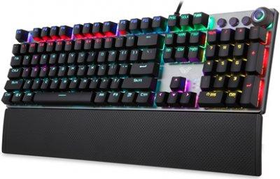 Клавіатура дротова Aula Fireshock V2 Mechanical Wired Keyboard EN/RU/UA