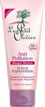 Маска для дица Le Petit Olivier Anti-Pollution Миндальный цвет 75 мл (3549620040029)
