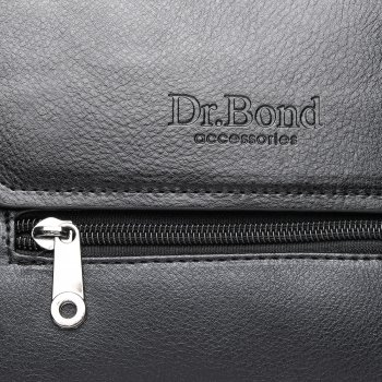 Сумка мужская планшет DR. BOND GL 213-1 черная