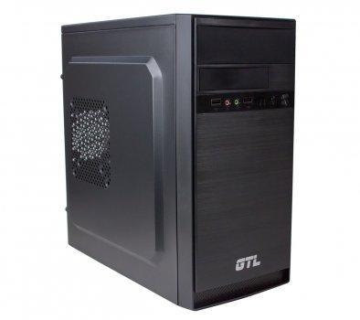 #177217 - Корпус GTL 1603 Black, 500W, 120mm, Micro ATX / Mini ITX, 2 x 3.5 mm, USB2.0 x 2, ODD x 1, HDD x 3, SSD x 1, 0.4 mm, 350x315x165, 3.9 kg
