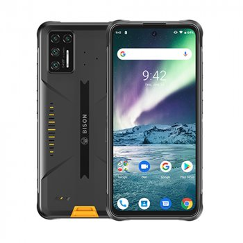 "Мобільний телефон Umidigi Bison GT yellow 8/128Gb IP69K 6.67"" NFC 5150mAh (1779 zp)"