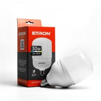 Надпотужна енергоефективна світлодіодна лампа LED 30W E27 6500K ETRON (1000000778)