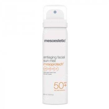 Солнцезащитный антивозрастной спрей для лица SPF 50 Mesoestetic 60 мл