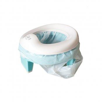Одноразовые пакеты для дорожных горшков с впитывающим вкладышем 10 шт Just Baby (PP01)