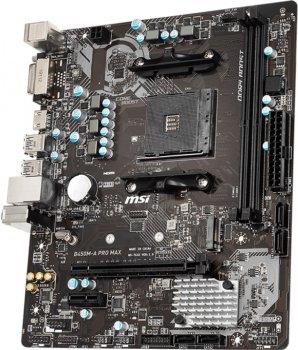 Материнська плата MSI B450M-A Pro Max (sAM4, AMD B450, PCI-Ex16)