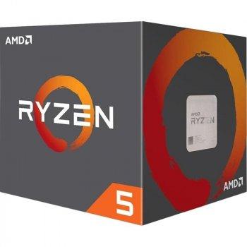 Процессор AMD Ryzen 5 1600 (3.2GHz 16MB 65W AM4) Box (YD1600BBAEBOX)
