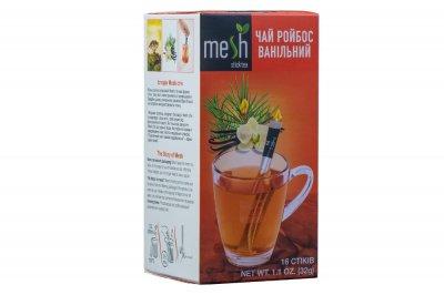 Чай ройбос ванільний Mesh 16 стіків