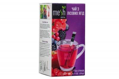 Чай з лісових ягід Mesh 16 стіків