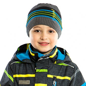 Демисезонная шапка NANO S17TUT257-DeepGray серый (S17TUT257-DeepGray-2/4x)