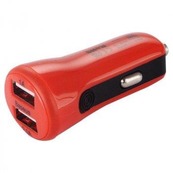 Автомобільний зарядний пристрій Baseus Tiny Red
