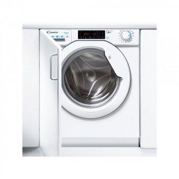Вбудовувана прально-сушильна машина Candy CBDO485TWME/1-S