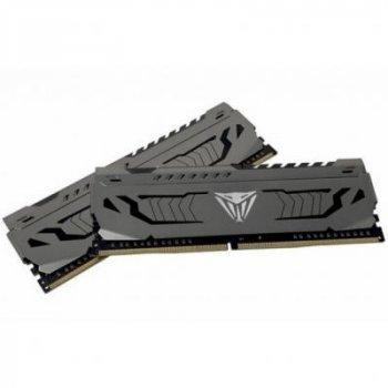 Модуль пам'яті для комп'ютера DDR4 16GB (2x8GB) 4400 MHz Viper Stee Patriot (PVS416G440C9K)