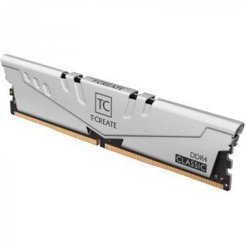 Модуль пам'яті для комп'ютера DDR4 16GB (2x8GB) 3200 MHz T-Create Classic 10L Gray Team (TTCCD416G3200HC22DC01)