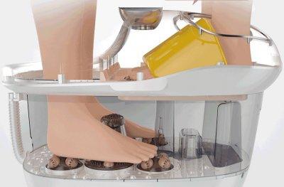 Гидромассажная ванночка Paradise TopRelax 2 в 1-м с компрессионным и акупунктурным массажем