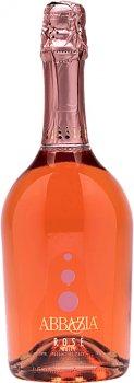 Вино ігристе Abbazia Moskato Dolce Atmosphere Rose рожеве солодке 0.75 л 7% (8001592003662)