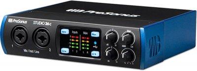 Аудіоінтерфейс PreSonus Studio 26c (228477)