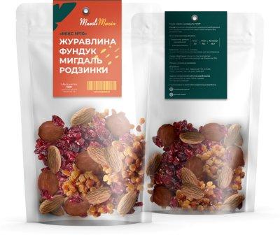 Суміш горіхів та сухофруктів Muesli Mania №10 150 г (4874812580809)