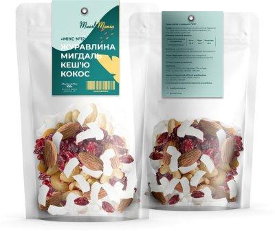 Суміш горіхів та сухофруктів Muesli Mania №12 100 г (4848759612333)
