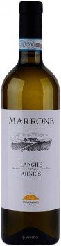 Вино Langhe DOC Arneis Marrone белое сухое 0.75 л 13% (8029510100484)