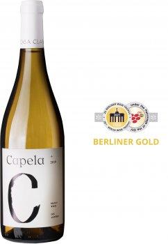 Вино Capela DOC Антау Важ, Аринто, Вердехо 2019 біле сухе 0.75 л 13% (5604563001051)