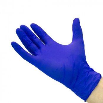 Перчатки Нитриловые Неопудренные MERCATOR MEDICAL Синие M (100 шт)