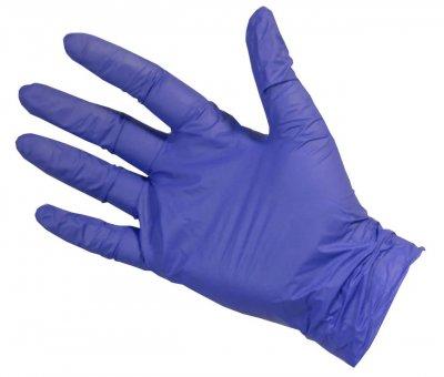 Перчатки Нитриловые Неопудренные CARE365 Фиолетовые M; L (100 шт)