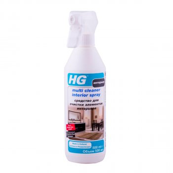 Засіб для очищення елементів інтер'єру 500мл HG (148050161)