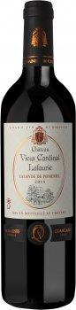 Вино Chateau Vieux Cardinal Lafaurie Lalande de Pomerol АОС красное сухое 0.75 л 11-14.5% (3176481026239)