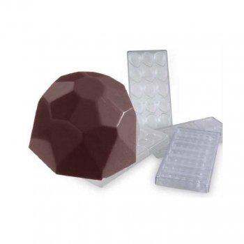 Форма для шоколада Martellato Бриллиант 2.8 см (513-MA1521)