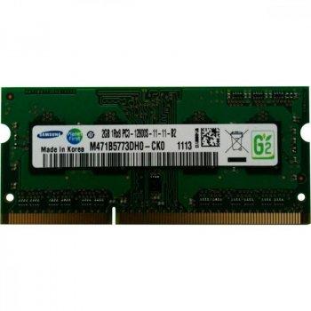 Модуль памяти SO-DIMM 2GB/1600 DDR3 Samsung (M471B5773DH0-CK0)