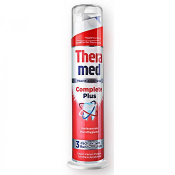 Зубная паста Theramed Complete Plus Fluorid-Zahncreme Защитная 100ml