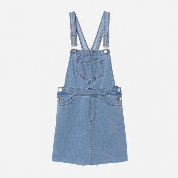 Сарафан джинсовый H&M 6967339 Голубой