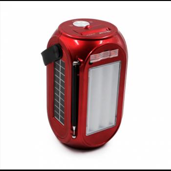 Портативная беспроводная колонка с солнечной панелью GOLON RX-BT27LS 10Вт Красная