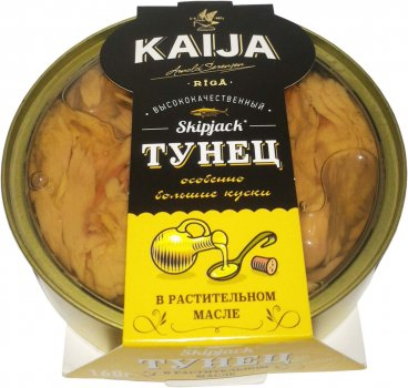 Тунец в масле Kaija 160 г (4751007735193)