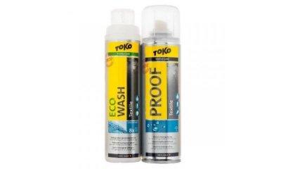 Набір засобів для догляду за мембранними тканинами Toko Duo-Pack Textile Proof + Eco Textile Wash 250ml