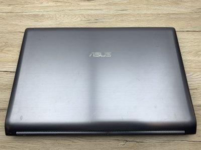 Ноутбук Б/У Asus n73 17.3 FHD/ i5-2520M 2(4) max3.2GHz/ GT630M 2Gb/ RAM 8Gb/ SSD120+750Gb/ АКБ 38Wh/ Сост. 8
