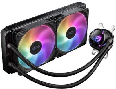 Система рідинного охолодження Asus ROG Strix LC II 280 Aura Sync ARGB 2x140 мм Fan (ROG-STRIX-LC-II-280-ARGB)