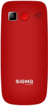 Мобільний телефон Sigma mobile Comfort 50 Elegance3 Red (1600 mAh) SIMO Assistant