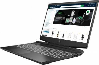 Ноутбук HP Pavilion Gaming 15-dk1018ua (423P0EA) Shadow Black