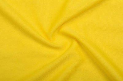 Ткань Трикотаж Джерси (подкладочный) желтый пог. м. (8120)