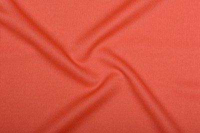 Ткань Трикотаж Джерси (подкладочный) коралловый пог. м. (6878)