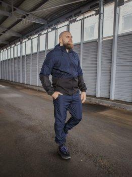 Спортивный костюм IBR Softshell light 1586808844 Синий с черным