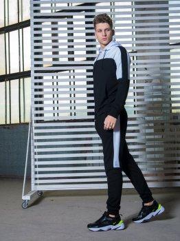Спортивный костюм IBR Spirited 1586893869 Черный с белым