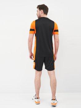 Футбольная форма Uhlsport 1003084-002 Черная с оранжевым