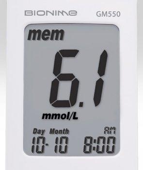 Глюкометр Bionime Rightest GM550