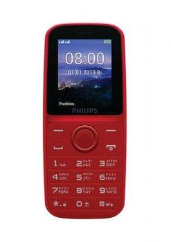 Philips Xenium E109 Dual Sim Red (CTE109RD_00)