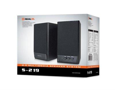 Акустична система REAL-EL S-219 Black