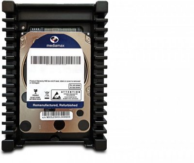 "Накопитель HDD 3.5"" SATA 400GB Mediamax 10000rpm 16MB (WL400GSA16RA100B) Refurbished"