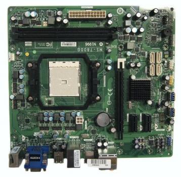 Материнская плата ECS Elitegroup (MS-7800G) (sFM2, AMD A75, PCI-Ex16) New