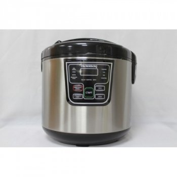 Профессиональная Мощная Мультиварка для дома CB-5522. дисплей,таймер,антипригарное покрытие